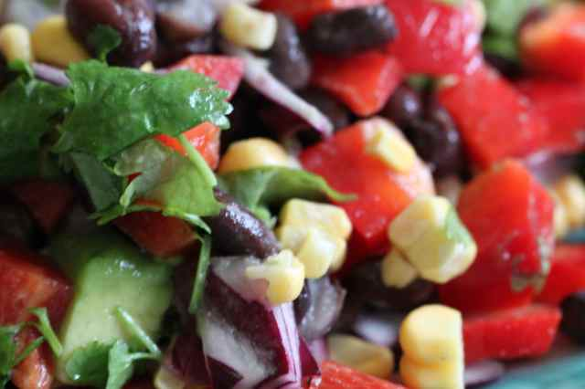 Black Bean SW salad 1