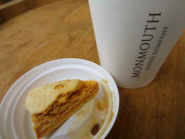 Coffee and honeycomb