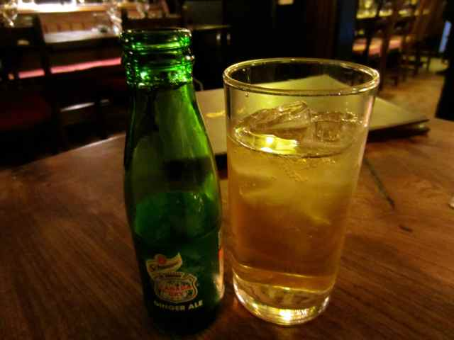 Ginger Ale and whisky