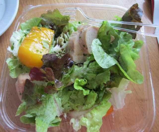half a chicken salad