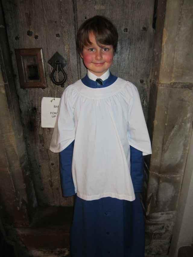 Harvey choir boy