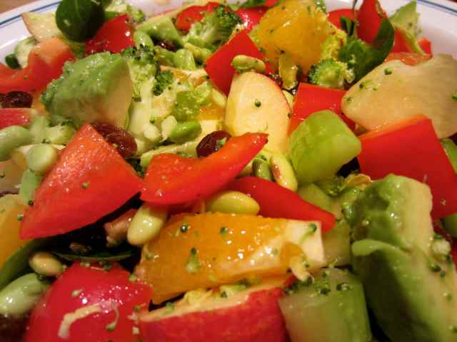 Healing Salad close up