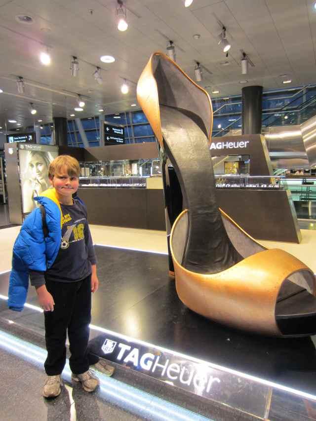 Large shoe