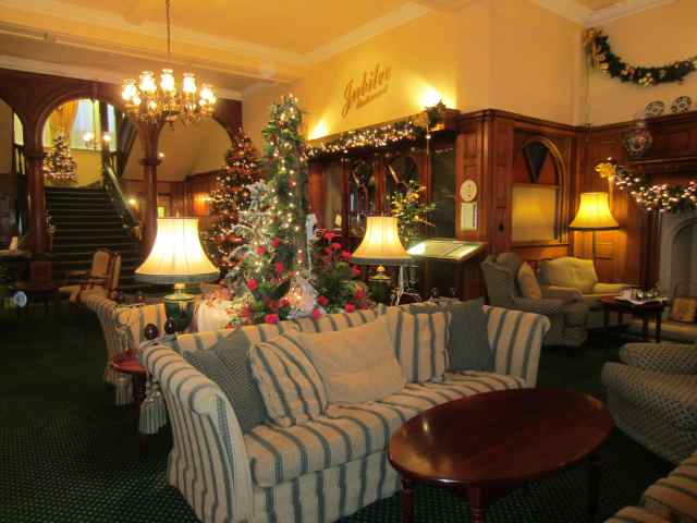 Lobby at The Victoria