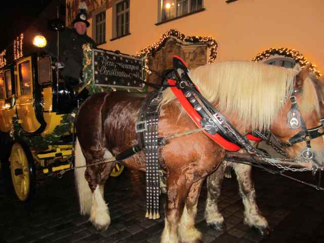 Nuremberg horse and cart