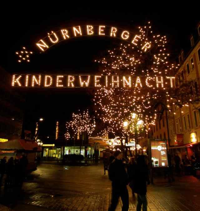 Nuremberg in lights