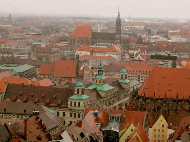Nuremberg roof tops
