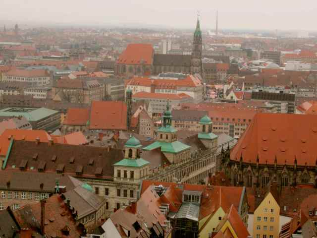 Nuremberg roof tops