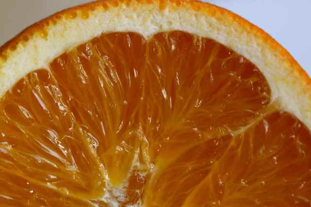 orange close up