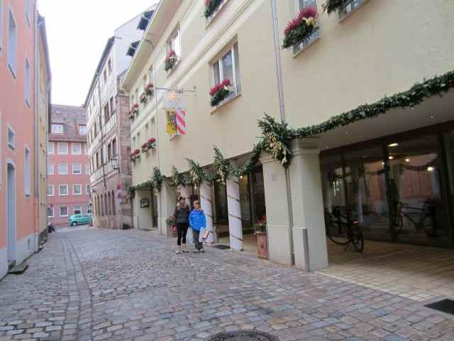Outside Hotel Agnesshof