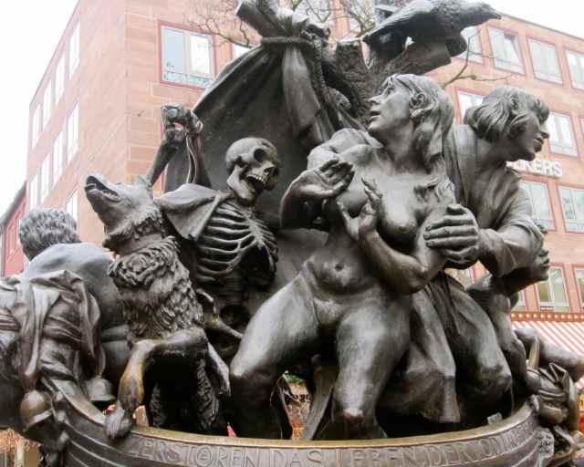 Statue in Nuremberg