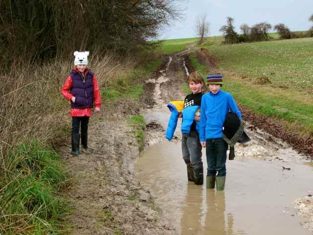 the muddy way