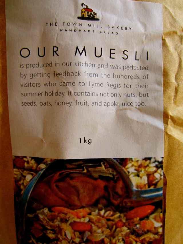 Town Mill Muesli bag