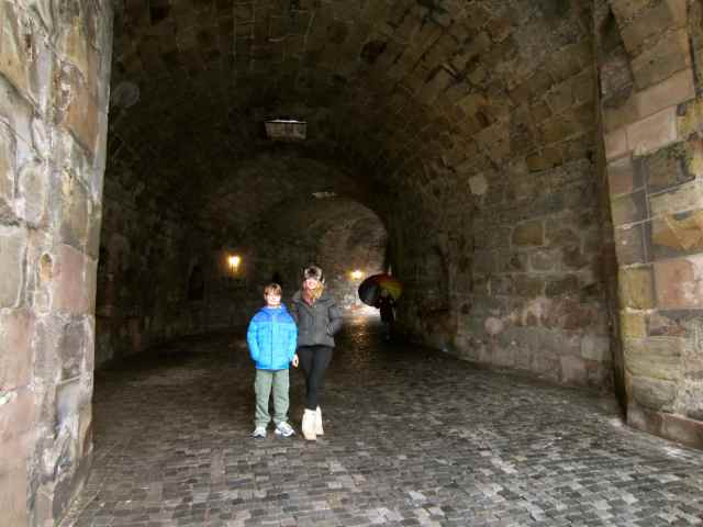 Tunnel to the castle