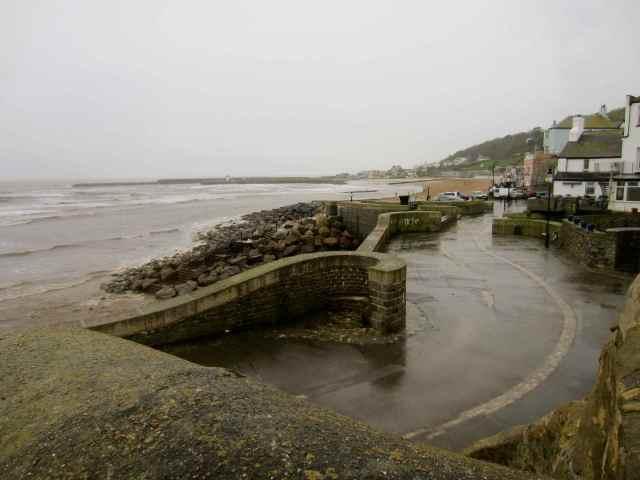 Wet Lyme Regis