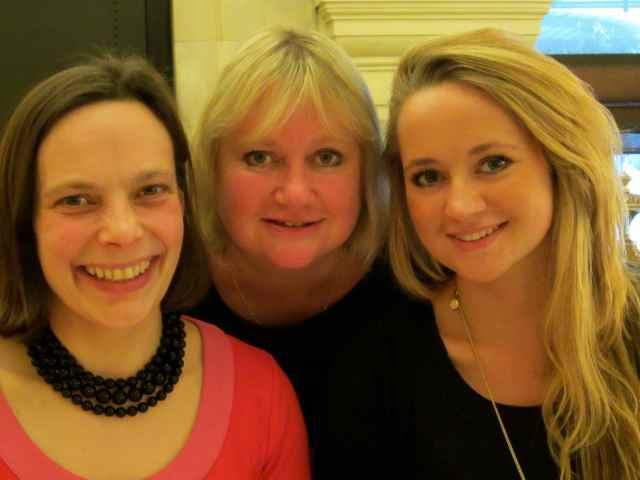 3 girls at Wolseley