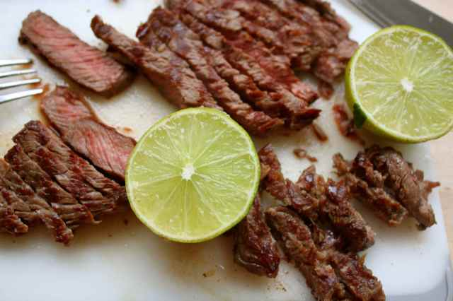 beef with lime