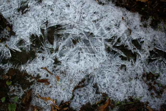 big ice crystals