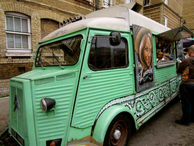 Burrito wagon