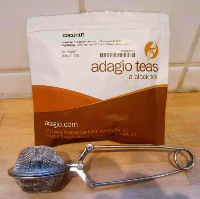 Coconut Adagio tea