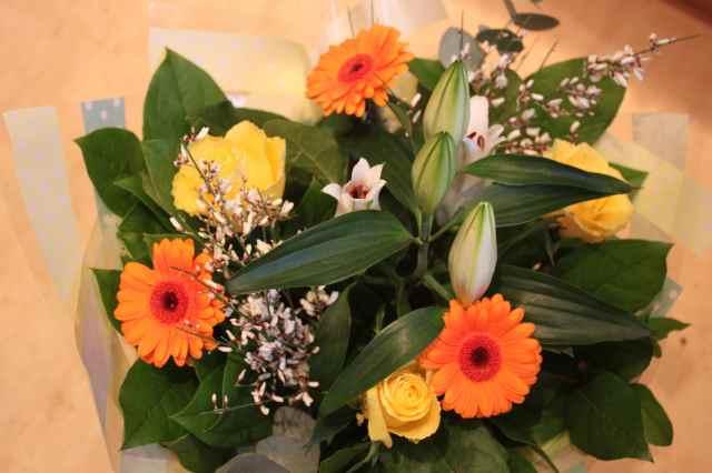 flowers from Lara