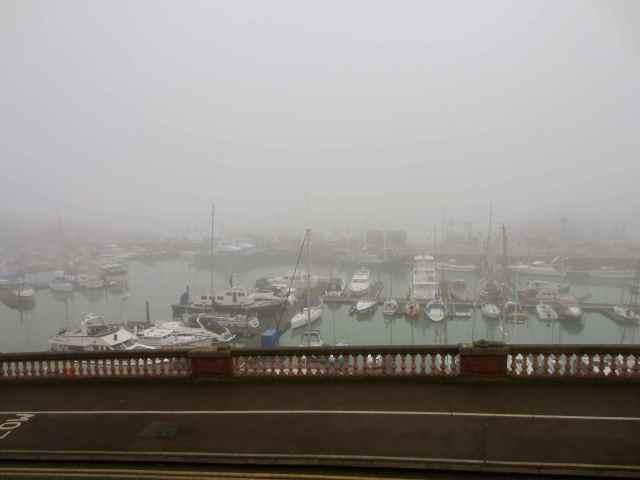 Foggy Marina at Ramsgate