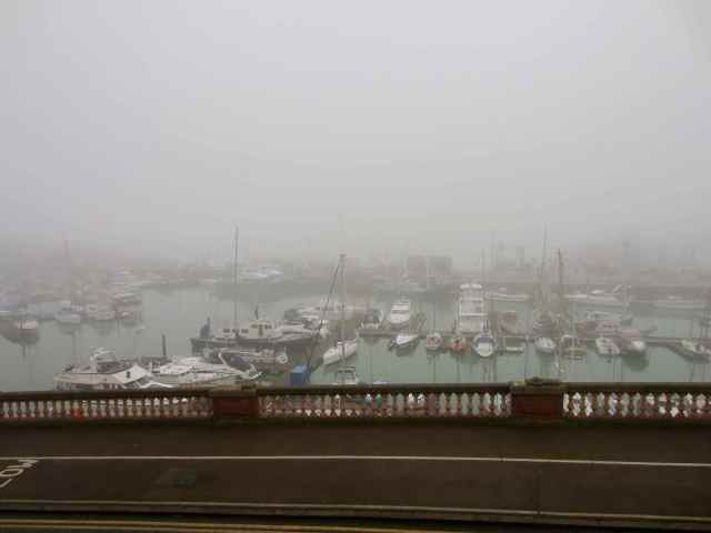 Foggy Marina at Ramsgate