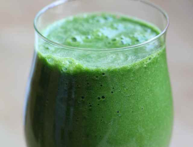 Green smoothie 27-1-13