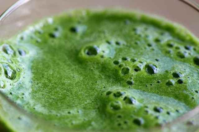 green smoothie, it's alive