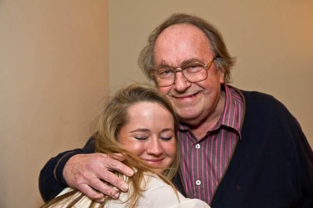 Lara and Papa