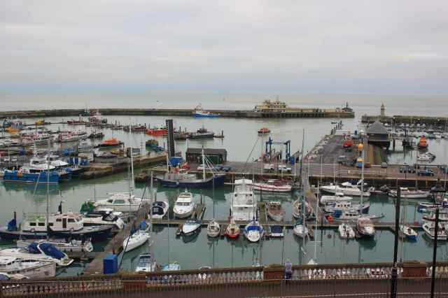 Ramsgate marina from the house