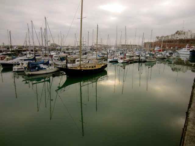 Ramsgate Marina, nearly home