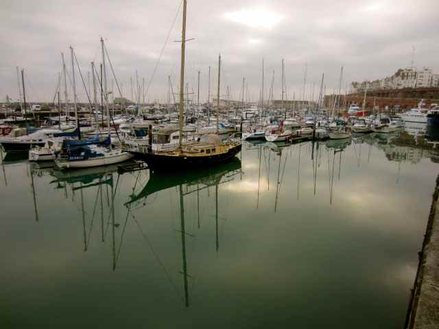 Ramsgate Marina, nearly home
