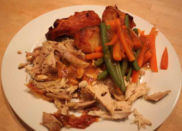 roast chicken dinner 27-1-13