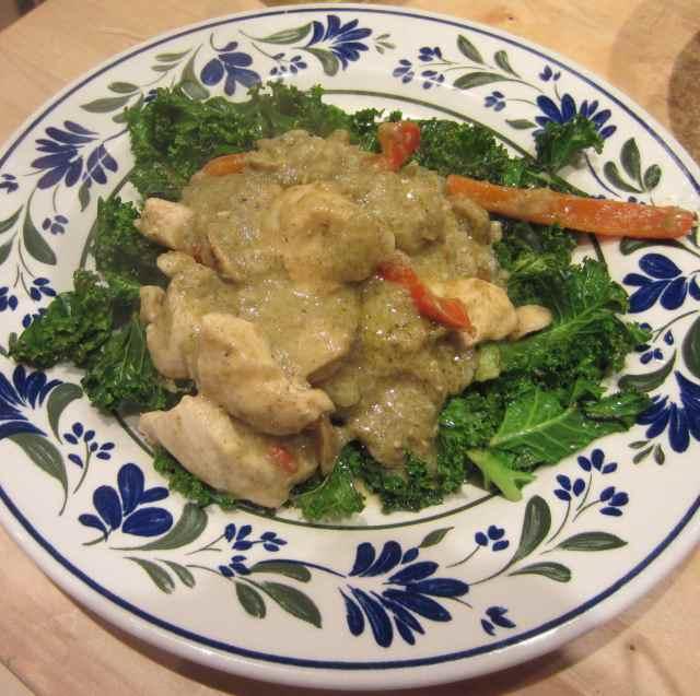 Thia green curry