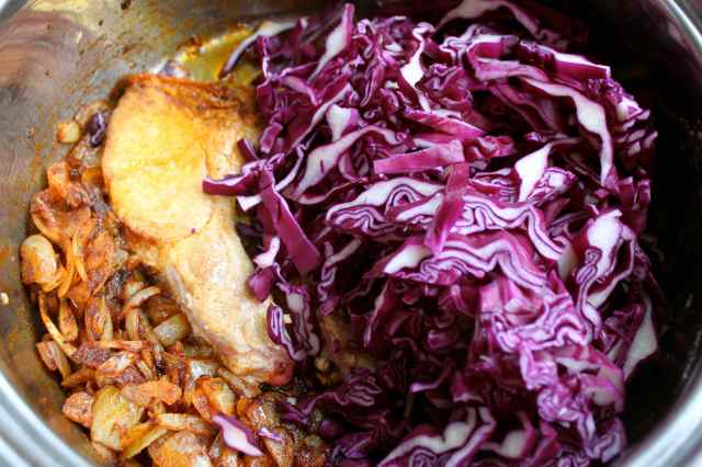 add red cabbage