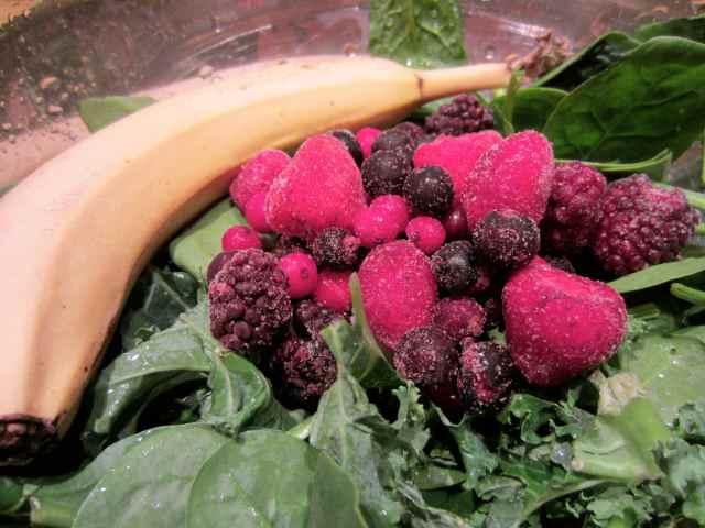 berries 'n' greens