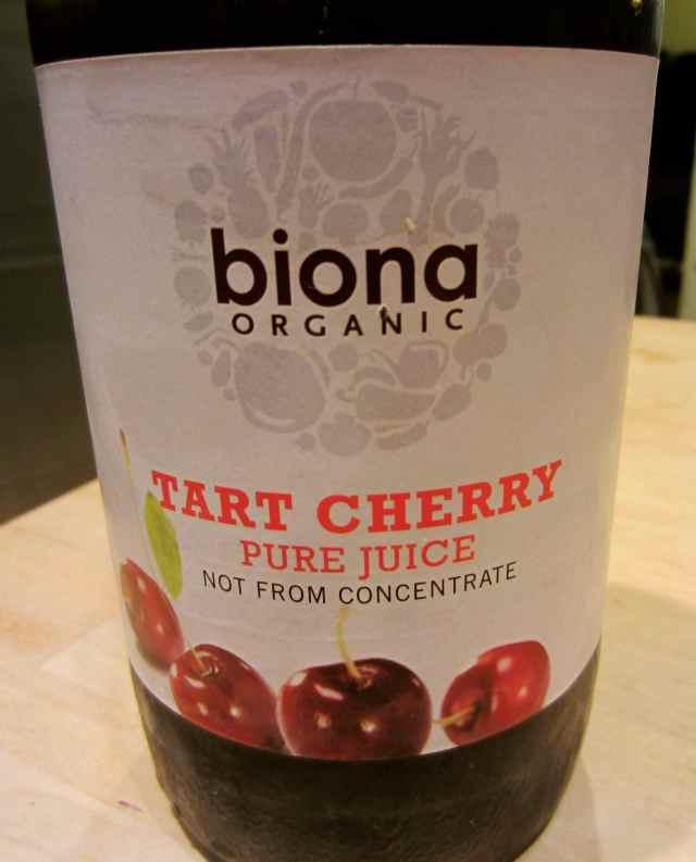 Biona tart cherry juice