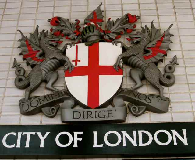 City of London shield