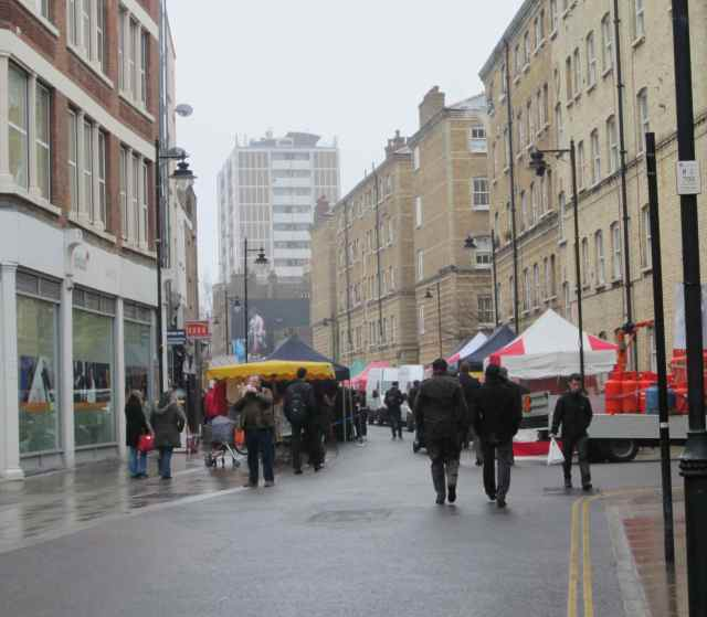 drizzly Whitecross Street