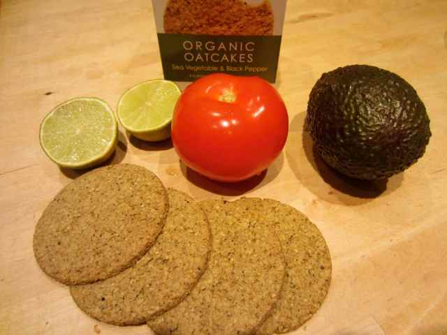 oatcakes and veg