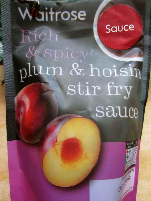 plum & hoisin sauce