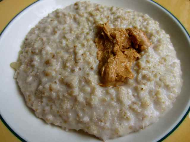 porridge and cashew