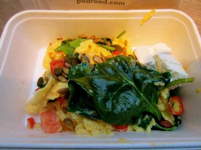 Superfood egg breakfast