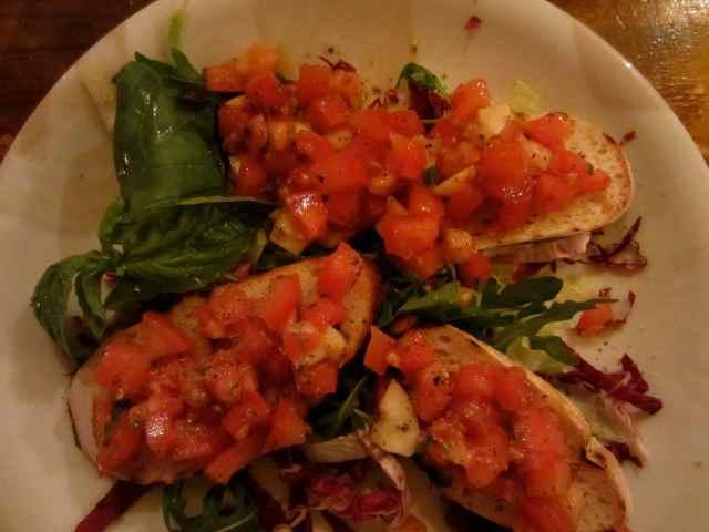 tomato bruscheta