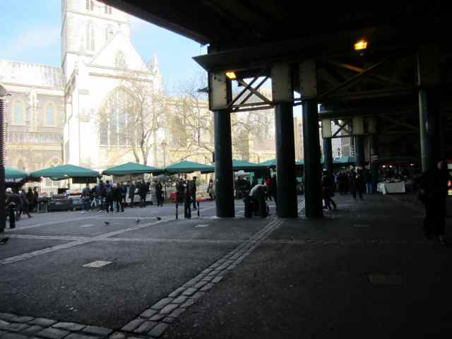 Borough Market and Cathedral