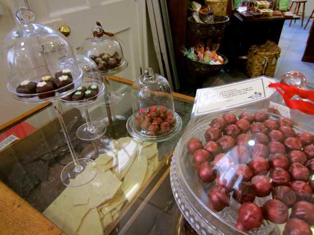 chocolates at The Cocoa House