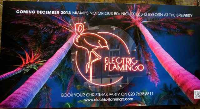 Electric Flamingo