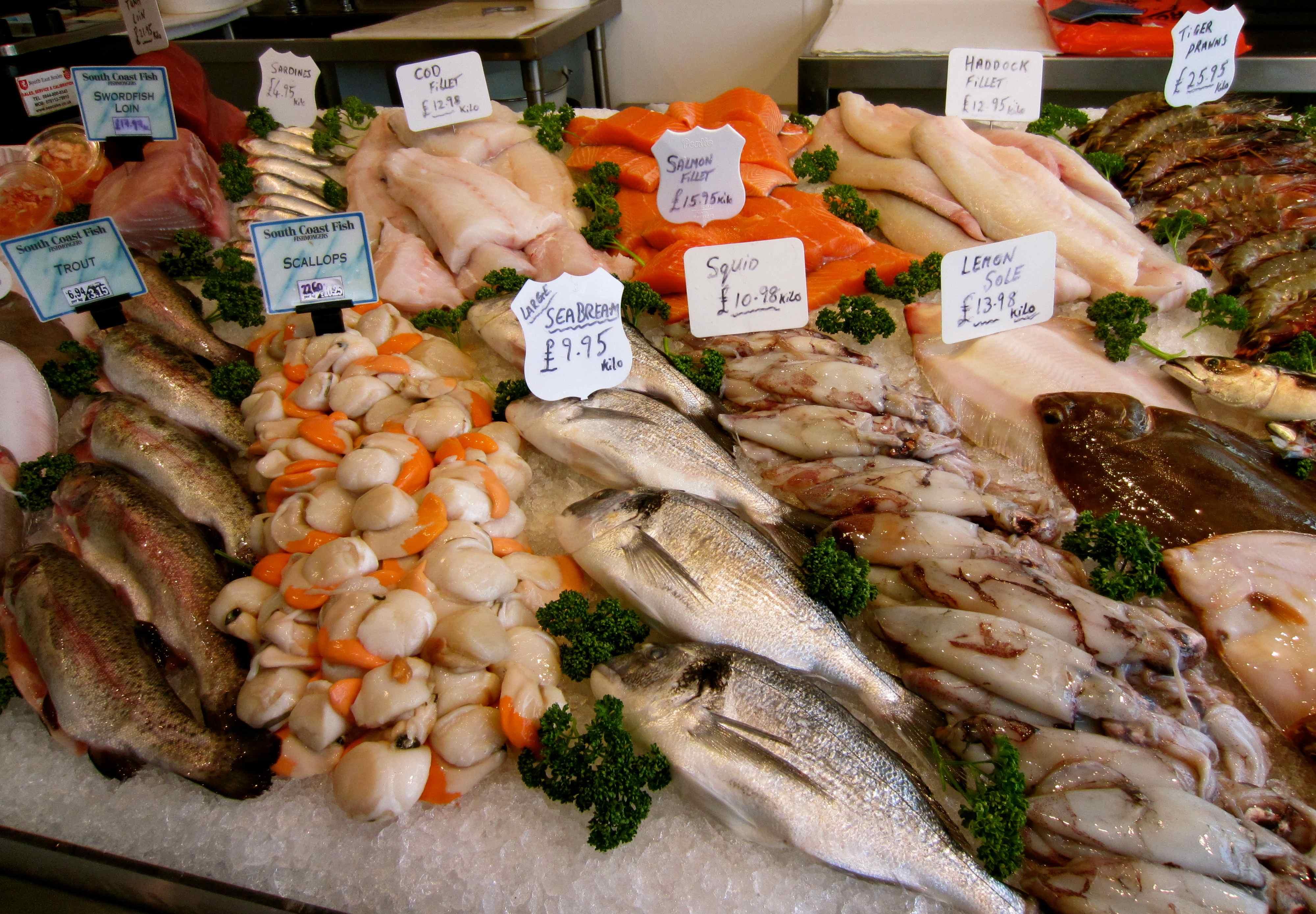 1000 images about fish market inspiration shop on pinterest for Fish market design ideas
