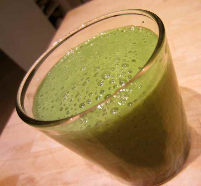 green smoothie 27-3-13